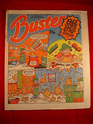 The Buster Comic - 18th October 1986 • 3.49£