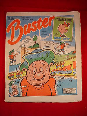 The Buster Comic - 24th August 1985 • 3.49£