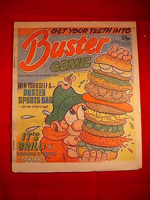 The Buster Comic - 29th November 1986 • 3.49£