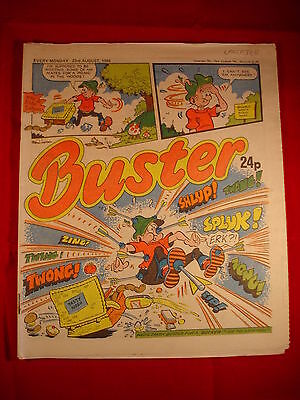The Buster Comic - 23rd August 1986 • 3.49£