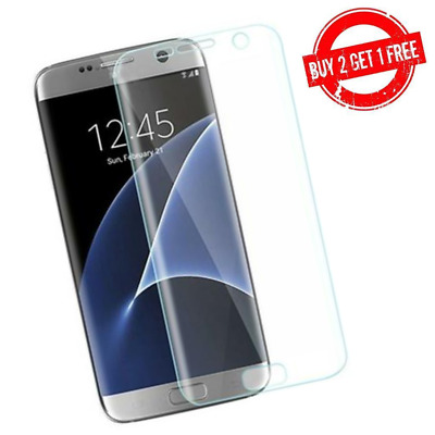 $ CDN3.95 • Buy Samsung Galaxy S7 Full Coverage Clear Case Compatible 3D Film Screen Protector