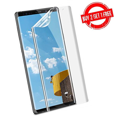 $ CDN3.95 • Buy Samsung Galaxy Note 9 Full Coverage Clear Case Compatible Film Screen Protector