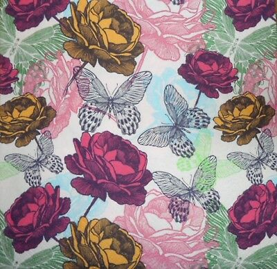 £1.35 • Buy 4 X Single Paper Napkins Roses And Butterfly For Decoupage Crafting Table 61