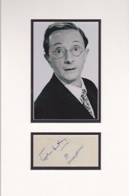 £145 • Buy Charles Hawtrey Double Mounted Signed Autograph Page