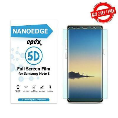 $ CDN4.99 • Buy Full Coverage Clear TPU Front Film Screen Protector FOR Samsung Galaxy Note 8