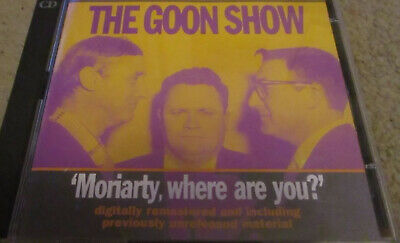 CD The Goon Show: Moriarty, Where Are You? By Spike Milligan (CD 2010) • 4.99£