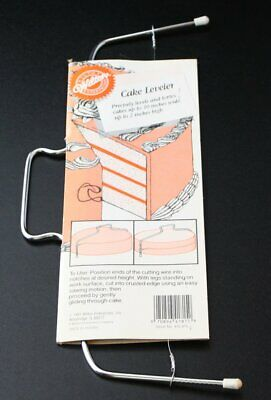 Unused Vintage Wilton 10  Wire Cake Leveler Cutter Quality Classic 1991 Nos  • 10.72£
