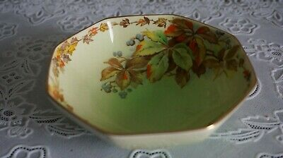 $ CDN10.92 • Buy VINTAGE Royal Winton Grimwades Autumn Leaves Pattern Octagonal Bowl, England