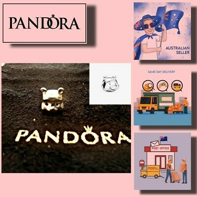 AU39.99 • Buy Pandora Charms Christmas Gift Disney Winnie The Poor Charm 【AU Stock】Item 791566