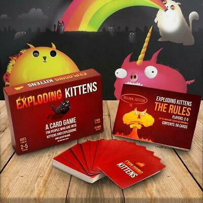 AU57.99 • Buy The Infamous Exploding Kittens Card Game