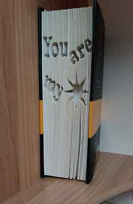 You Are My Sunshine CUT & Fold Book Folding Pattern (PRINTED PATTERN ONLY) • 3.30£