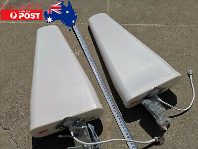 AU189 • Buy 2x 4G External LPDA Antennas 2x 10m Low Loss Cables For Telstra Optus Vodafone
