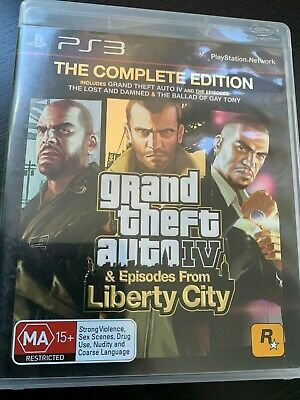 AU14.96 • Buy Grand Theft Auto 4 Iv Complete Edition Ps3 Playstation 3 Aus Pal All Expansions