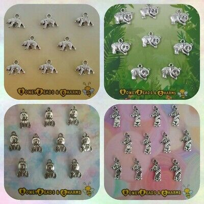 £1.25 • Buy ❤ Bear Charms ❤ Panda/Grizzly/Teddy ❤ CRAFTING/JEWELLERY MAKING ❤