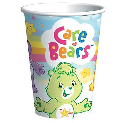 £5.78 • Buy  CARE BEARS 8 Ct-PAPER CUPS 9 FL. OZ. -BIRTHDAY- PARTY SUPPLIES--V2