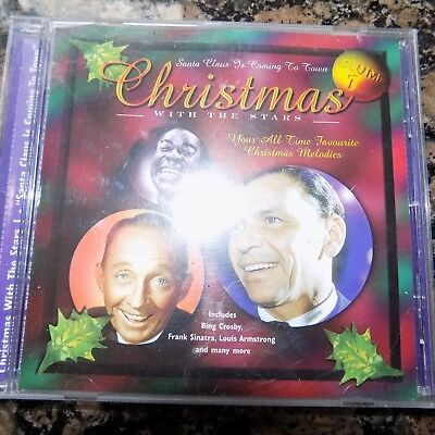 Cd  Christmas With The Stars Bing Crosby , Frank Sinatra Louis Armstrong   Used • 2.61£