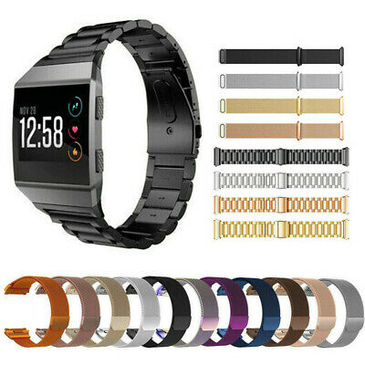$ CDN3.94 • Buy Milanese Loop For Fitbit Ionic Watch Band Strap Bracelet S/L Stainless Steel