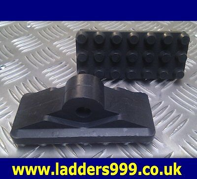 Replacement Ladder Rubbers For Articulated Feet - 1 Pair Of Rubbers Only • 18.98£