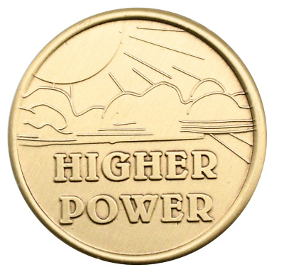 $4.75 • Buy Wendell's Higher Power Bronze Alcoholics Anonymous AA Coin Chip Medallion Token