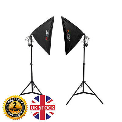 Continuous Lighting Softbox Kit Product Photography Video Lights UK Stock 1050W  • 79.99£