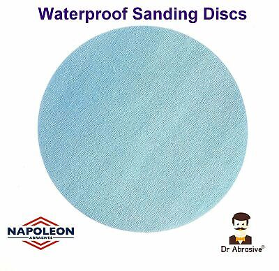 75mm Wet And Dry Sanding Disc 3 Inch Sandpaper Pad Film Hook And Loop All Grits • 3.99£