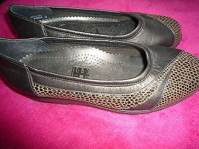 Ladies Equity Leather  Shoes Size 3 • 4.50£