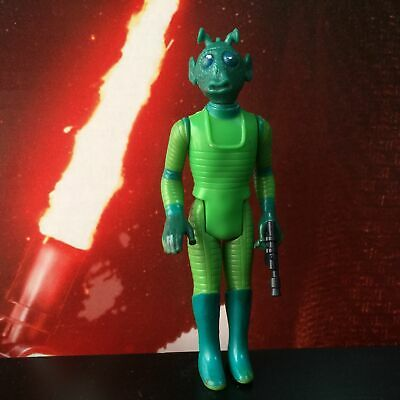 $ CDN30 • Buy Star Wars Vintage Complete Greedo Bounty Hunter Figure 1978