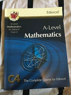 AS/A Level Maths For Edexcel - Core 4: Student Book By CGP Books (Paperback,CD) • 10£