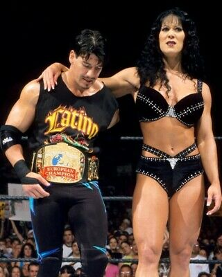 $ CDN5.06 • Buy Chyna & Eddie Guerrero 8x10 Photo Wrestling Picture Wwf Wwe