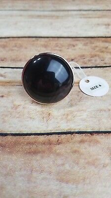 $ CDN23.81 • Buy Lia Sophia Espresso Ring Size 6 Retired Brand New With Tags