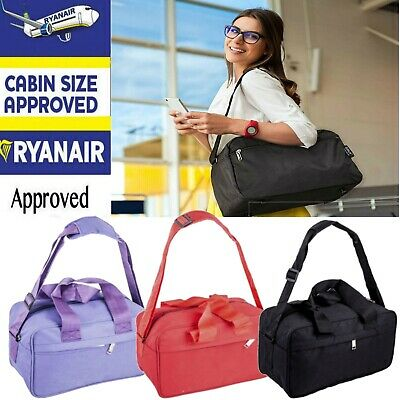 £8.97 • Buy Ryanair Approved Free Under Seat Shoulder Hand Cabin Luggage Bag Travel Holdall