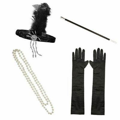 £5.99 • Buy 1920s 20s Gatsby Charleston Flapper Fancy Dress Accessories For Costume Kit.
