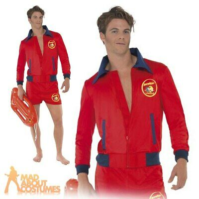 £32.49 • Buy Adult Mens Official Baywatch Lifeguard Fancy Dress 1990s Stag Party Costume
