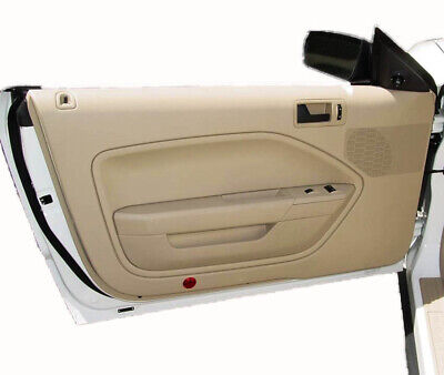$26.76 • Buy Synthetic Leather BEIGE Door Panel Insert Card Covers Fits 05-09 Ford Mustang
