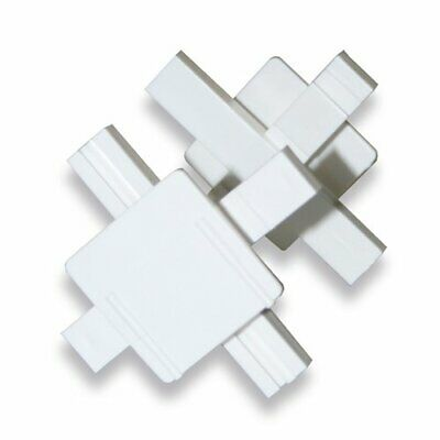 Glass Block Plastic Spacer - 10mm Grount Line - For 80mm Thick Glass Blocks • 0.99£
