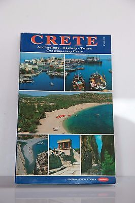 CRETE Travel  Archaeological, History, Tours Guide. 1994. English • 2.86£