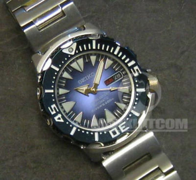 $ CDN2594.52 • Buy SEIKO Blue MONSTER 2013 Limited Edition SRP461 Automatic 4R36 200m Diver Watch