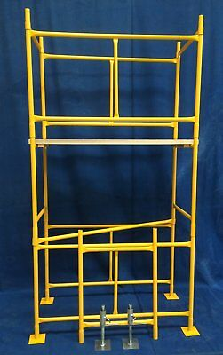 Steel Scaffolding, Scaffold Tower 4 X 2 X 11' Work Ht, FREE DELIVERY INCLUDED • 240£