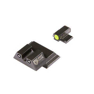 $108.18 • Buy Night Fision Perfect Dot Tritium Night Sight Set For S&W M&P-SAW-201-007-YGZG
