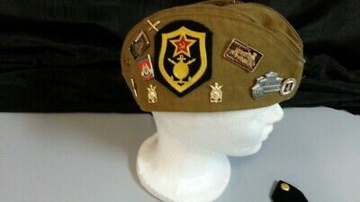 russian military hat pins