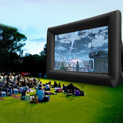 AU201.99 • Buy 6mx4m 16:9 Giant Inflatable Projector Movie Screen Home Cinema Theatre Backyard