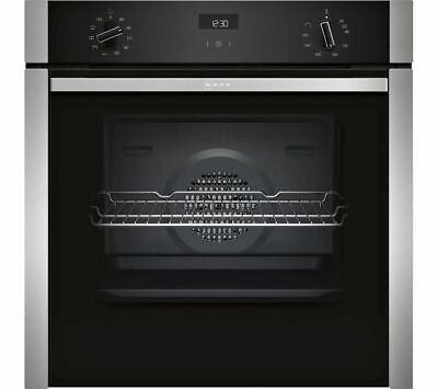 £479 • Buy NEFF B3ACE4HN0B Slide And Hide Electric Oven - Stainless Steel 60cm 02