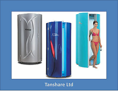 Commercial Tansun Stand Up Sunbed Vertical Tanning Symphony Brand 250w New Lamps • 2,800£