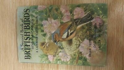 A Second Book Of British Birds And Their Nests.a Ladybird Nature Book • 5.90£