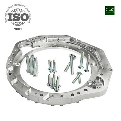 $445.33 • Buy Bmw M60 / M62 V8 Engine Adapter Plate To Audi 2.5 Tdi Gearbox 01e Transaxle Pmc