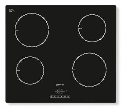 BOSCH PIA611B68B Electric Induction Hob  Black Power Management Function 60cm • 311£