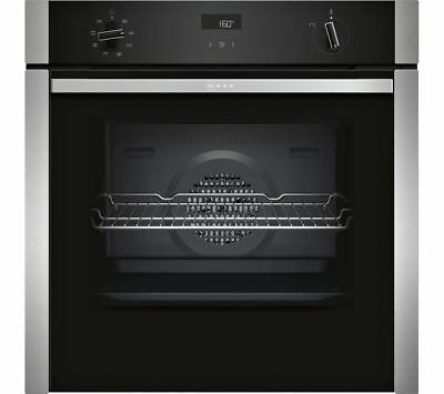 £499 • Buy NEFF B4ACF1AN0B SINGLE ELECTRIC OVEN HIDE&SLIDE 71L CircoTherm STAINLESS STEEL A