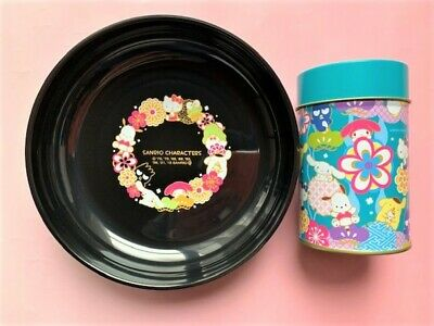 £33.72 • Buy Sanrio Characters Snack Bowl & Can Blue Japan Hello Kitty My Melody Purin New FS