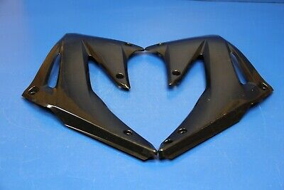 $34.99 • Buy 2004 02-04 CRF450R CRF 450R Radiator Shrouds Side Cover Black Left Right Guards