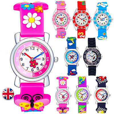 £6.99 • Buy Learn How To Tell The Time Watch For Boys Girls Toddler Time Teacher RRP £14.99